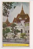 K-571 Bangkok Thailand The Chakri Mahaprasart Grand Palace Postcard - Postcards