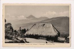 K-589 Guatemala Central America El Tesoro Camino De Antigua A Yepocapa PC - Postcards
