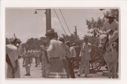 K-605 Cartagena Colombia Street Scenes Vintage Real Photo Postcard - Postcards