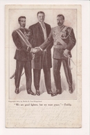 K-610 Teddy Roosevelt And World Leaders 1905 Postcard We Want Peace - Famous People