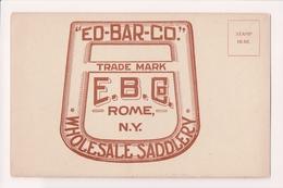 K-618 Rome New York Ed-Bar-Co Edward Barnard EB Co Wholesale Saddlery PC - Other