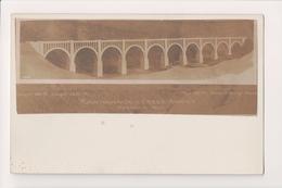 K-633 Nicholson Pennsylvania Tuckhannock Creek Viaduct Real Photo Postcard - United States