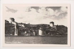 K-647 Istanbul Turkey Rumeli Hisar Real Photo Postcard RPPC - Postcards