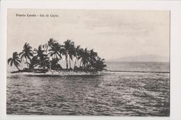 K-730 Puerto Cortes Honduras Isla De Cayos 1938 Postcard - Postcards