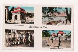K-750 Hue Vietnam Handcolored Multiview Real Photo Postcard - Postcards