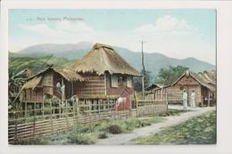K-828 Philippines Islands Nipa Houses Early Postcard - Postcards