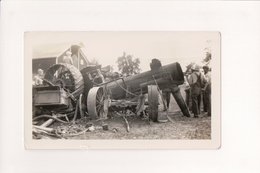 K-839 Steam Engine Tractor That Blow Up Vintage Photo - Other
