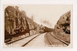 K-904 Coopersburg Pennsylvania Philadelphia And Reading Railroad P&R RPPC - United States