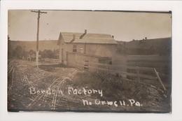 K-905 Borden's Factory North Orwell Pennsylvania 1922 Real Photo Postcard - United States