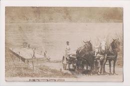K-908 Laceyville Pennsylvania On The Harris Stone Wagon 1908 Real Photo RPPC - United States