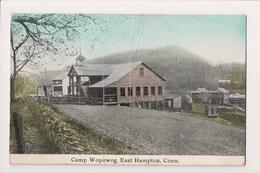 K-937 East Hampton Connecticut Camp Wopowog 1913 Postcard - Other