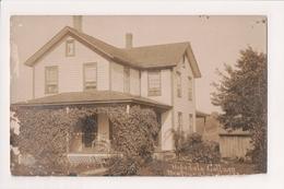 K-965 Newfoundland Pennsylvania Hopedale Cottage 1909 Real Photo Postcard - United States
