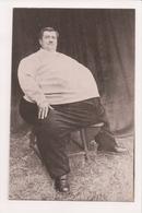 K-984 Rene Remond Le Colosse Jurassien Large Man Sideshow Circus Postcard - Famous People