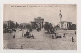 K-993 Constantinople Turkey Postcard Entr�e Et Tour De Seraskierot Stamboul - Postcards
