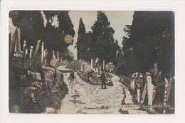 K-996 Constantinople Turkey Postcard Grand Cemetiere Eyoub Real :Photo - Postcards