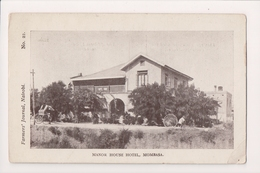 L-224 Mombasa Kenya Manor House Hotel Farmers Journal Postcard - Postcards