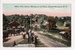L-354 Catskill Mountain New York High Falls Station Train Railroad 1908 PC - Other