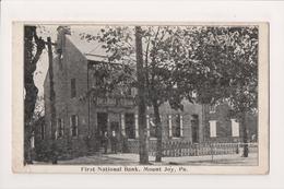 L-436 Mount Joy Pennsylvania First National Bank 1934 Postcard - United States