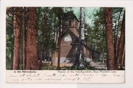 L-438 Blue Mountain Lake Mission Of The Transfiguration Adirondacks Postcard - Other