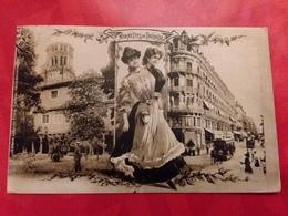 CPA MIDINETTES DE TOULOUSE VOYAGEE 1907 PARFAITE ÉD. LABOUCHE FRERES - Toulouse