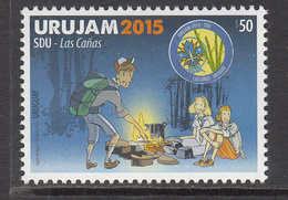 2015 Uruguay Urujam Scouts Complete Set Of 1 Stamp MNH - Uruguay