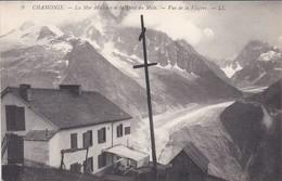 74----CHAMONIX---la Mer De Glace Et La Dent Du Midi--vue De La Flegère--voir 2 Scans - Chamonix-Mont-Blanc