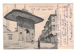 CPA Constantinople - Entrée De La Mosquée Ste Sophie (1900, Proche BE) - Turkey