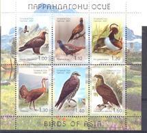 2007. Tajikistan, Birds, Of Asia,  S/s, Mint/** - Tadzjikistan