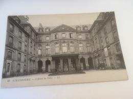 BY - 2500 - STRASBOURG - L'Hôtel De Ville - Strasbourg