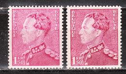 429**  Poortman - 2 Nuances Différentes - Bonne Valeur - MNH** - LOOK!!!! - 1936-51 Poortman