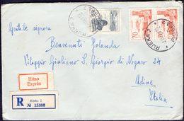 JUGOSLAVIA - SARAJEVO -  EXPRES  RECOM, Letter - 1961 - Storia Postale