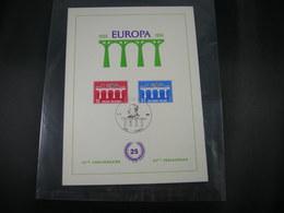 "BELG.1984 2130 & 2131 FDC Filatelic Card  ( Mariakerke ) : "" EUROPA 1984 "" - FDC"
