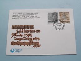 Lucas Debes 1673 > TORSHAVN 19.10.1981 Utgavudagin / First Day Of Issue ( Zie Foto's ) 1981 ! - Féroé (Iles)