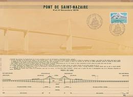 CEF 1975 PONT DE ST NAZAIRE ST BREVIN VOIR PHOTO - FDC