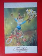 9668 Soviet Greeting Postcard. - Feiern & Feste