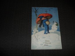 Enfant ( 2772 )  Kind  Champignon  Paddestoel  - Illustrateur F. B. - Children