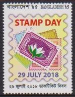BANGLADESH 2018 - STAMP DAY, 1v MNH - Bangladesh