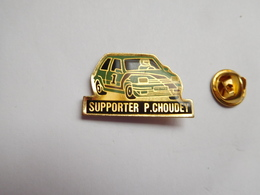 Beau Pin's , Auto Renault Supercinq 5 GT Turbo , Rallye , Supporter P. Choudey - Renault