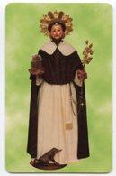 Martina Franca TA - Santino Plastificato SAN DOMENICO Parrocchia San Domenico - OTTIMO R12 - Religione & Esoterismo