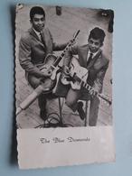 THE BLUE DIAMONDS > Uitg. (?) ( Zie Foto Details ) 1961 ! - Chanteurs & Musiciens