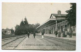 CPA  52 : BOURBONNE LES BAINS   Intérieur Gare  A  VOIR  !!!!!! - Bourbonne Les Bains