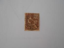 FRANCE YT 113 TYPE MOUCHON 20c. Brun-lilas Cachet à Date - 1900-02 Mouchon