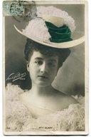 CPA - Carte Postale - Fantaisie - Portrait De Femme - Mademoiselle Glady - Chapeau - 1905 (B9416) - Femmes