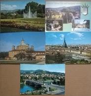5 CART. PIEMONTE  (39) - Cartoline