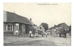 60/ OISE.. ROCQUENCOURT. Grande Rue... BELLE ANIMATION, Machine Agricole, Attelage - Altri Comuni