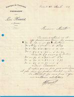 1913 FABRIQUE DE TONNEAUX A FROMAGES LEON HENRIET A FRASNE DOUBS - France