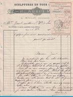 1919 SCULTURES EN TOUS GENRES B. ALIBERT MILLAU AVEYRON - France