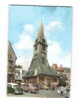14 Honfleur Eglise Sainte Catherine Vieille Voiture Auto Citroen DS 2cv Chevaux CPSM GF Edit Estel N°112258 Photo - Honfleur
