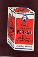 CALEPIN - Bloc-note  -  COLLE PERFAX  Pour Papiers  Peints . Des Années 1950/1960 - 3 Scannes - Other Collections
