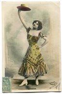 CPA - Carte Postale - Fantaisie - Portrait De Femme - Chapeau - Belle Robe - Aragon  (B9421) - Femmes